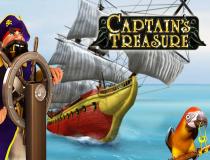 Игровой автомат с большими вознаграждениями – Captain's Treasure